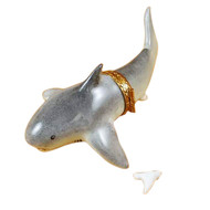 Rochard SHARK W/ REMOVABLE TOOTH Limoges Box RA400-I