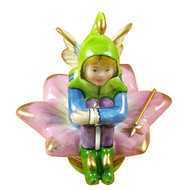 Fairy On Flower Rochard Limoges Box