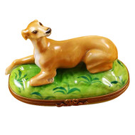 Greyhound Rochard Limoges Box