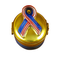 Spirit Of America Ribbon Rochard Limoges Box