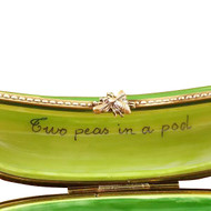 Two Peas In A Pod Rochard Limoges Box