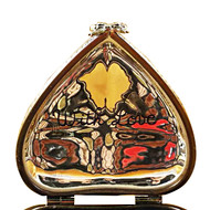 Red Heart W/Chocolates Rochard Limoges Box