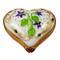 Heart Plumetis Rochard Limoges Box