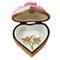 Heart W/Daisies Rochard Limoges Box