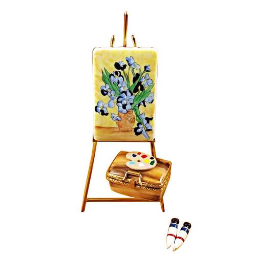 Easel Van Gogh Rochard Limoges Box