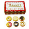 Donut Box W/Six Donuts Rochard Limoges Box
