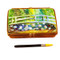Monet'S Japanese Foot Bridge Paint Box Rochard Limoges Box
