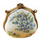 Forget Me Not Handbag Rochard Limoges Box