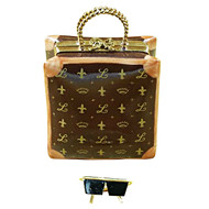Designer Shopping Bag Rochard Limoges Box
