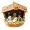 Nativity Stable Rochard Limoges Box