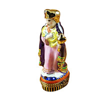 Wiseman-Purple Coat Rochard Limoges Box