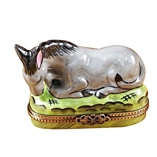Donkey Rochard Limoges Box