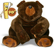 Big Ben Giant Stuffed brown bear