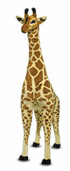 Jerry the Giraffe - Giant Stuffed Giraffe