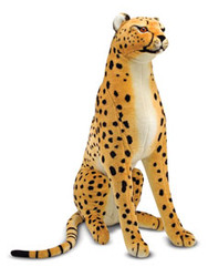 Savannah the Cheetah - Giant Stuffed Cheetah