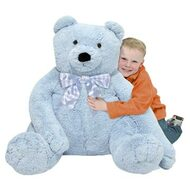 Blueberry Bear - Big Stuffed Teddy Bear