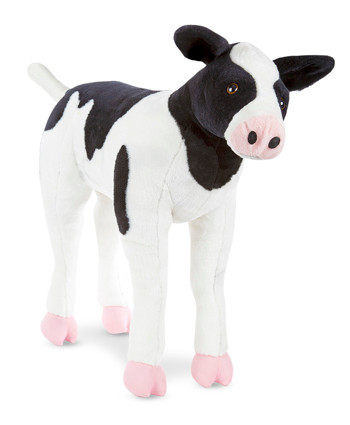 Baby The Calf Large Stuffed Cow