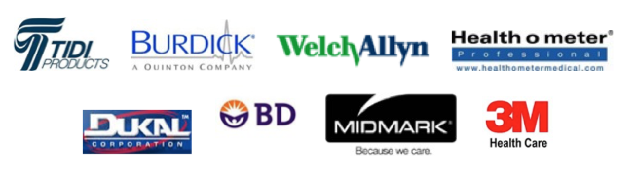 Just some of the companies we are a complete line distributor for: