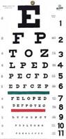 Snellen Hanging Eye Chart