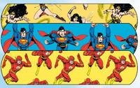 "Superman, Wonder Woman and Flash Bandaid 3/4"" 100's"