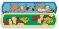 "Shrek & Donkey Bandaid 3/4"" 100's"