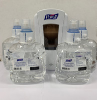 PURELL Advanced Hand Sanitizer & Dispenser Combo