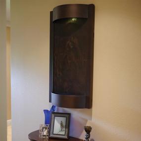 Contempo Terra Dark Copper and NSI Lightweight Slate Wall Fountain