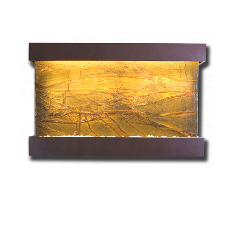 Large Horizon Falls Classic Quarry Rainforest Brown Marble  with Copper Vein Kit