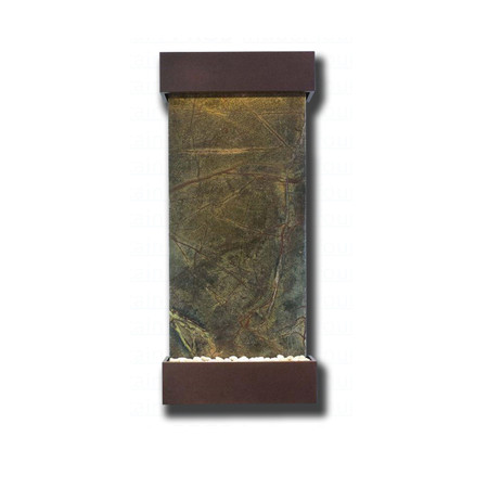 Large Nojoqui Falls Rainforest Green  Marble with Copper Vein Trim Kit