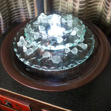 Moon Light Tabletop Fountain