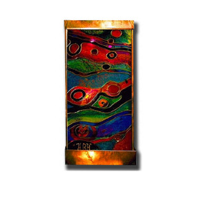 Stained Galaxy X Wall Fountain