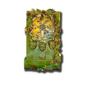 Cherub Art Wall Fountain
