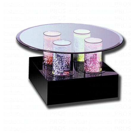 Aqua Cocktail Bubble Table