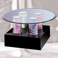 Aqua Cocktail Bubble Table