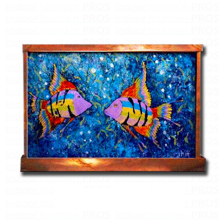 Fish Love Wall Fountain