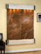 Majestic River - Rainforest Brown Marble - Stainless Steel - Rounded