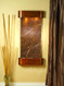 Cascade Springs - Rustic Copper - Rainforest Brown Marble- Rounded Corners