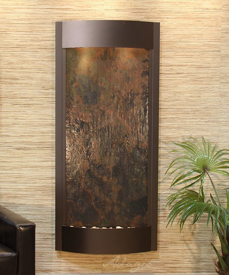 Pacifica Waters - Multi-Color FeatherStone - Antiqued Bronze