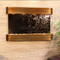 Sunrise Springs - Bronze Mirror - Rustic Copper - Rounded Corners - Indoor Fountain Pros