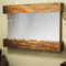 Sunrise Springs - Silver Mirror - Rustic Copper - Squared Corners - Indoor Fountain Pros