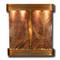 Aspen Falls - Round Corners - Rustic Copper - Rainforest Brown Marble