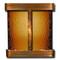Aspen Falls - Round Corners - Rustic Copper - Bronze Mirror