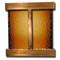 Aspen Falls - Square Corners - Rustic Copper - Bronze Mirror