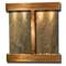 Aspen Falls - Square Corners - Rustic Copper  - Green Slate