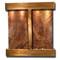 Aspen Falls - Square Corners - Rustic Copper  - Rainforest Brown Marble