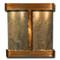 Aspen Falls - Round Corners - Rustic Copper  - Green Slate