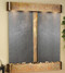 Cottonwood Falls with Rustic Copper Trim and Black Featherstone with Rounded Corners
