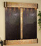 Cottonwood Falls with Rustic Copper Trim and Rajah Featherstone with Rounded Corners