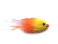 Kokanee Trolling Fly - Hot Orange/Yellow
