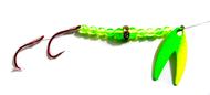Reli Lures - Diamond Flash Spinner TM - UV Green
